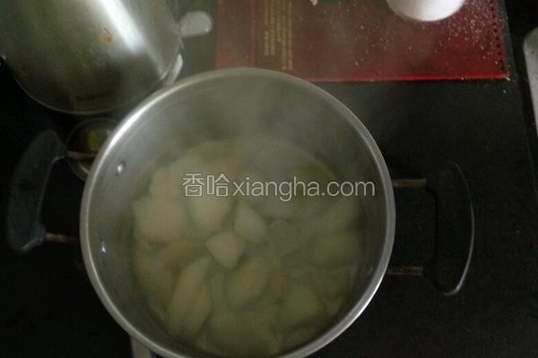 百合梨水汤