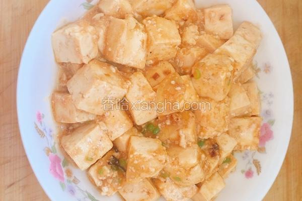 黑胡椒豆腐