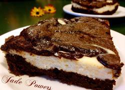 奶油芝士巧克力布朗尼