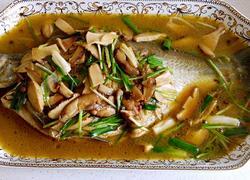 香菇香葱烧武昌鱼