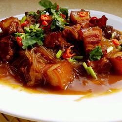 红烧肉炖粉条