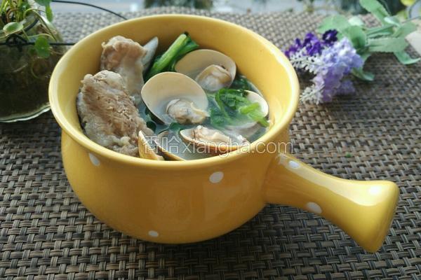 车螺芥菜猪骨汤
