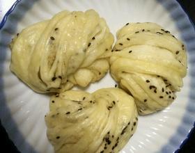 椒盐花卷(全麦)