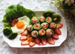 水果炒饭 减肥餐