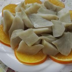 香橙冰糖蒸地瓜