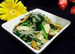 豆芽韭菜炒香干