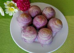 紫薯蜜豆酥