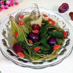 枸杞红枣车前草汤的做法[图]