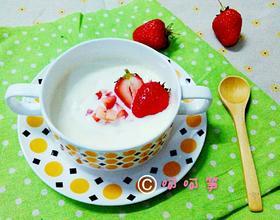 草莓双皮奶[图]
