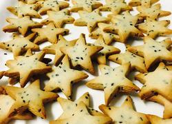 星星芝麻饼干