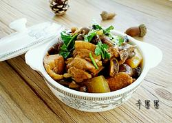 东北小鸡炖蘑菇