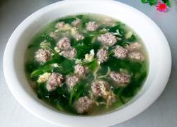青菜肉圆汤