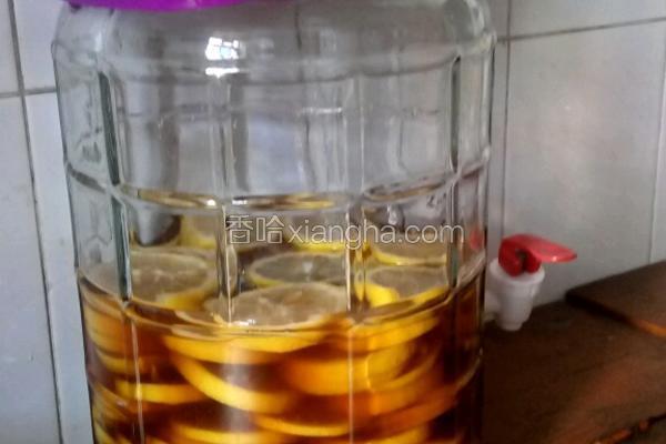 柠檬酵素(自制)