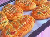 培根芝士香葱面包的做法[图]