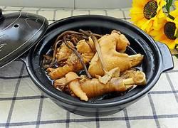 茶树菇炖柴鸡