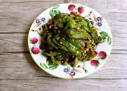 豆豉煸辣椒