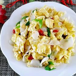 百合炒鸡蛋