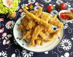 燕麦酥鸡柳[图]