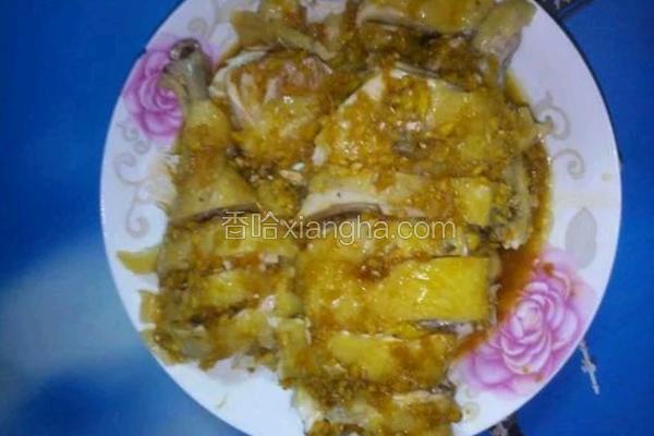 姜汁白切鸡