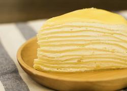 黄金榴莲千层蛋糕