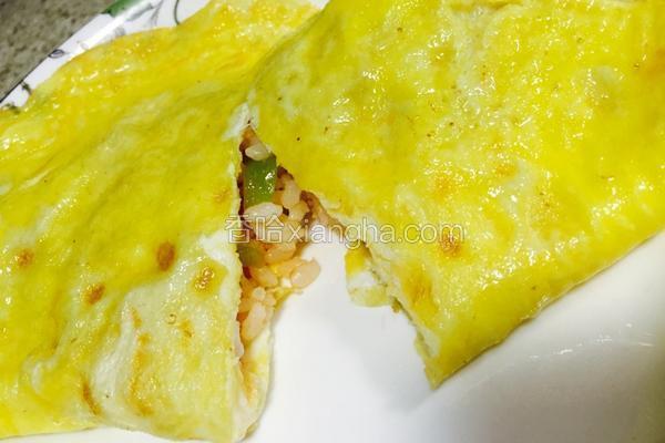 榴莲牌家庭版蛋包饭