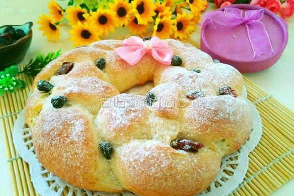 花环乳酪面包(汤种)