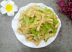 西芹炒腐竹