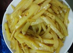 咸蛋黄土豆条