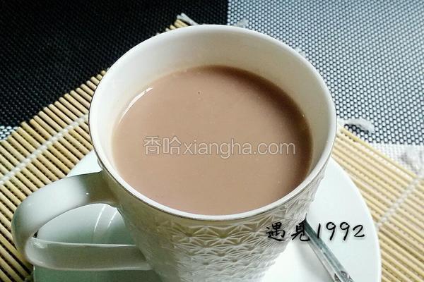 香纯红枣豆浆