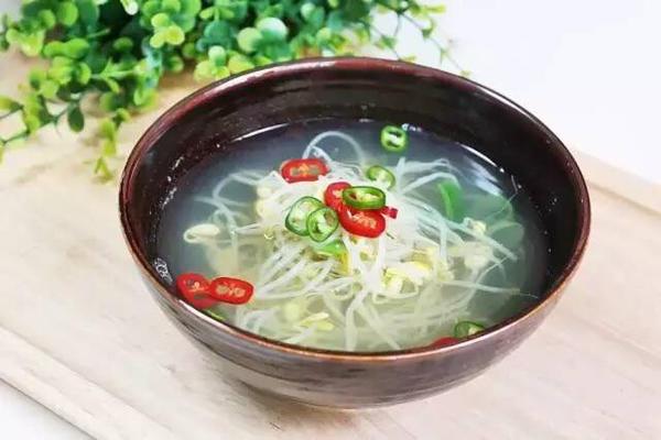 韩式【黄豆芽汤】
