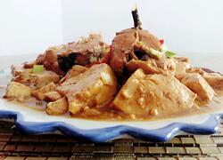辣酱鳕鱼炖豆腐