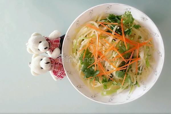 香菜土豆丝