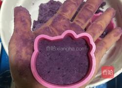 紫薯饼的做法图解5
