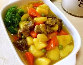 咖喱牛肉[图]