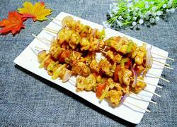 时蔬烤肉串