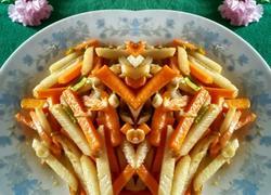 清炒山药胡萝卜