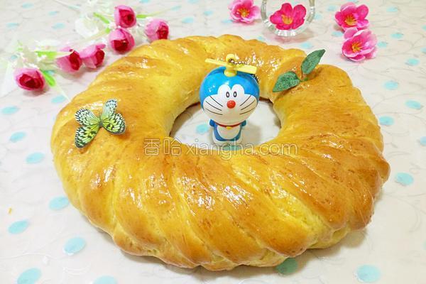 花环面包(汤种法)