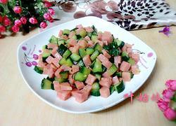火腿肠炒青瓜
