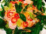 青木瓜虾沙拉的做法[图]