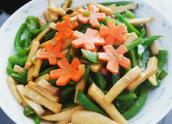蚝汁青椒杏鲍菇