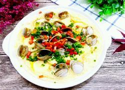 蛤蜊蒸蛋(日本豆腐)