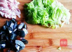 皮蛋瘦肉粥的做法图解2