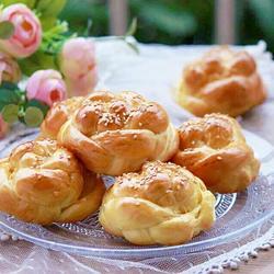 花朵面包的做法[图]