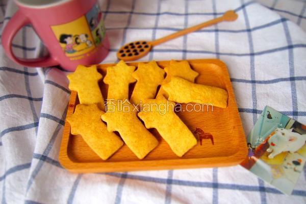 黄油造型饼干