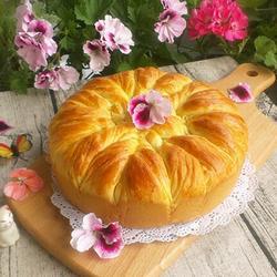 手撕花朵大面包