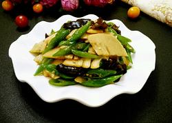 尖椒炒春笋
