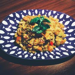意式蘑菇南瓜炖饭