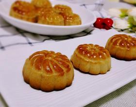 广式豆沙月饼[图]