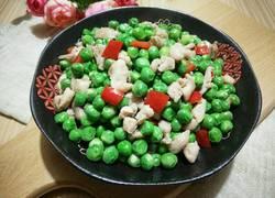 春色之豌豆鸡丁