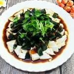 凉拌皮蛋豆腐的做法[图]